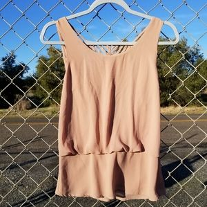 FOREIGN EXCHANGE Tank Blouse